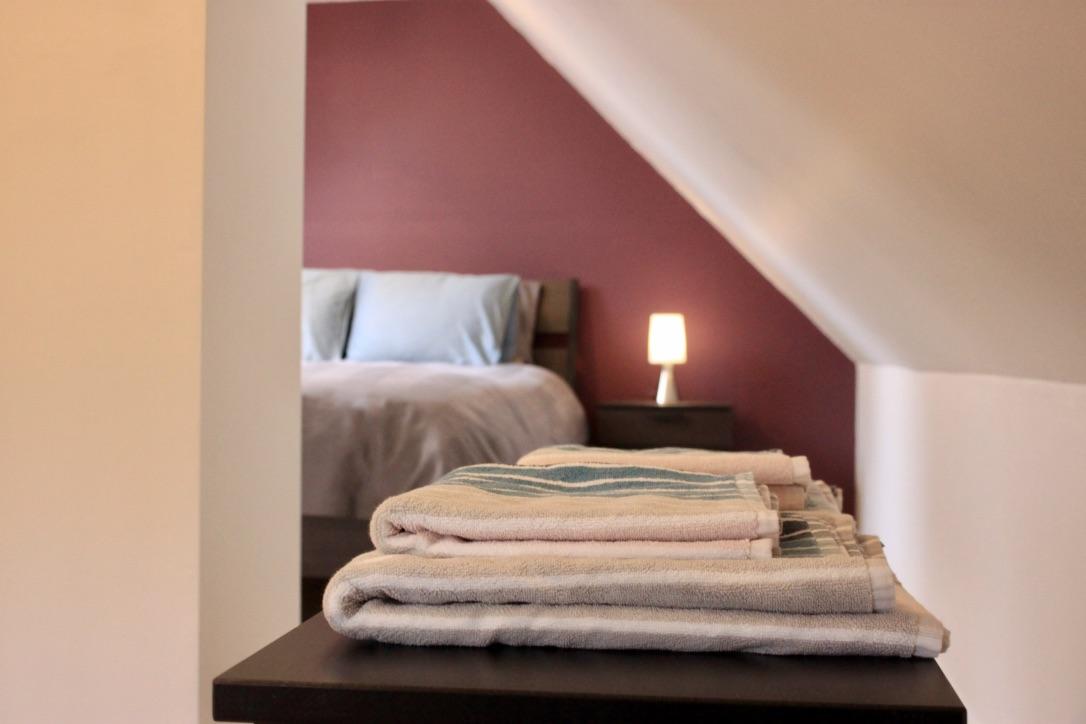 Slaapkamer Vakantiewoning De Hoog Weyen